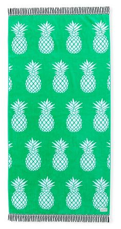 Pineapple print Beach Towel is too cute! Pineapple Beach Towel, Pineapple Print, Summer Of Love, Summer Fun, Summer Time, Kids Beach Towels, Beach Kids, Beach Please, Pineapple Express
