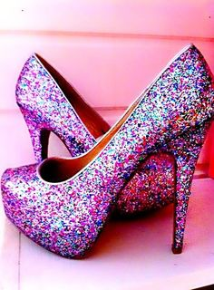 Haha love them but wouldn't wear them for MY wedding. (: