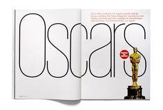 Oscars feature opener, Frame magazine