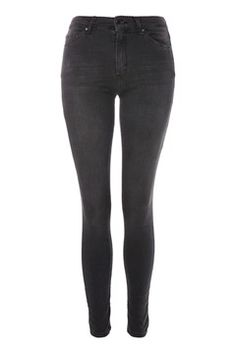 MOTO Dark Grey Leigh Jeans