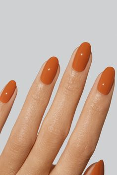 The colour of leather that only gets better with age. While somewhat misleading, Hermès refers to this colour as gold and it is often cited as the most popular colour for first-time buyers of the brand's iconic Birkin bag. A pigmented, medium orange-brown. Uv Gel Nail Polish, Uv Gel Nails, Orange Brown, Orange Leather, Birkin, Beauty, Color, Popular, Age