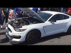 Shelby Mustang GT350-R Exhaust modes