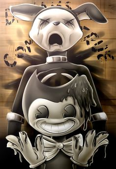Bendy and the Ink Machine (with speedpaint) by Fluffy-Ravens on DeviantArt