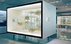 VITRINES 3D, VISITEURS PEUVENT CIRCULER AUTOUR Dornier Museum, Friedrichshafen: ATELIER BRÜCKNER