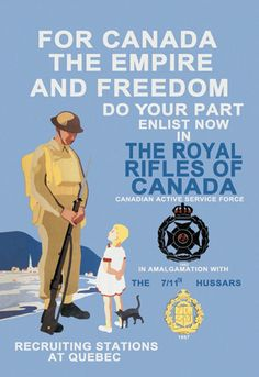 For Canada, The Royal Rifles of #canada - Quebec, #quebec #military