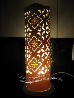 Lumin%C3%A1ria+em+PVC+-+Renda+ok.jpg (1200×1600)