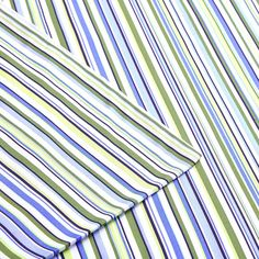 Intelligent Design Multi Stripe Sheet Set, Blue Cal King