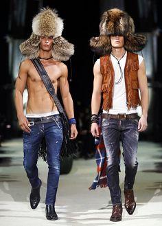 ? & Lukas Katinas   Dsquared2 Fall/Winter 2015   Milan Fashion Week