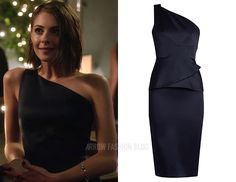 """Thea wears Roland Mouret in 5x09 """"What We Leave Behind"""""""