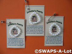 Mini Juliette's Pearls Juliette Low SWAPS Scout SWAPS Kit for Girl makes 25
