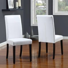Aprilia Eggplant Upholstered Dining Chairs Set of 2 by Monsoon