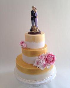 Tarta 50 aniversario, bodas de oro