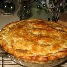 Turkey Pot Pie- using left over turkey and gravy