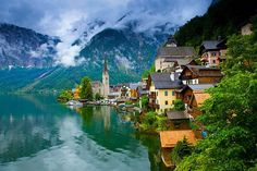 Lake village, Halstatt, Austria