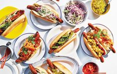 These next-level hot dog toppings aren't just condiments: They're a way of life ; grill ; cookout ; barbecue