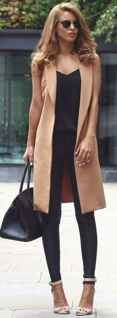 #summer #popular #outfits | Nude + Black