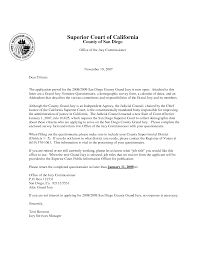 letters to court template