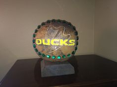 Oregon Ducks Gourd lamp
