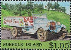 Norfolk Island 1995 Vintage Motor Vehicles Fine Mint SG 585 Scott 571 Other Norfolk Island Stamps HERE