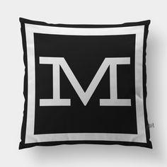 Capa de Almofada Monograma M | Storehouse Home Decor - 69,00