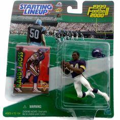 Randy Moss NFL Trading Card Action Figure 1999 Starting Lineup Vikings | eBay