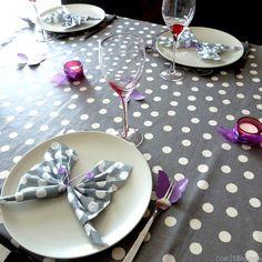 diy decoration de table papillons