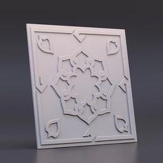 На изображении представлена - 500*500. Форма для 3d панелей «Самарканд»