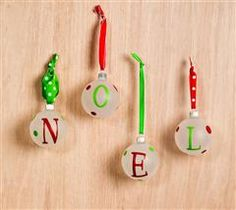 These ornaments are sure to bring a jolly feeling to your home through the holiday season.
