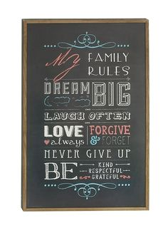 Quoted Wood Wall Decor