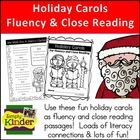Looking for some fun fluency or close reading passages to use with your students?  Why not use holiday songs?    Included in this download is  *  5...