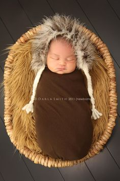 too fricking cute. a baby eskimo