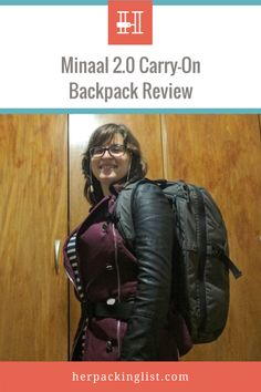 7e5d7dee6fa5 Meet Julia and Her Minaal 2.0 Carry-On Backpack Review