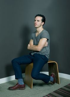 When he's not busy playing with Sherlock and stealing the Crown Jewels Jim Moriarty likes being photographed.