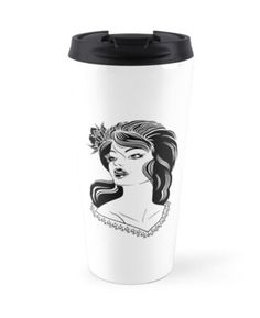'Untitled' Travel Mug by alexandraharcea Travel Mug, Mugs, Tumblers, Mug, Cups
