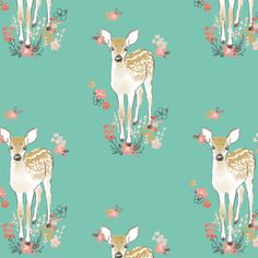 Hawthorne Threads - Fawn - Little Fawn in Succulent