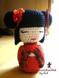 AmigurumisFanClub. Kokeshi ♥ Japan !!!
