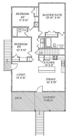 157 Best Beach House Floor Plans Images In 2019 Beach Homes Beach