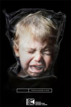 Disturbing, huh? So are people who subject children to second hand smoke!!! I feel that parents who smoke in their home should be charged with child ABUSE/NEGLECT!   Love that Doug has NEVER smoked in OUR home or around OUR children!! Second hand smoke KILLS!!!! :)