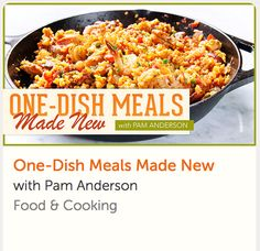 Join cookbook author Pam Anderson and learn how to make easy one-pot dinners! This online cooking class comes with lifetime access AND a money-back guarantee. Thai Cooking, Cooking For Two, One Pot Dinners, Meals For One, Crockpot Recipes, Cooking Recipes, Healthy Recipes, Online Cooking Classes, Cake Decorating Classes