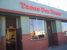 Tacos Por Favor, Santa Monica, Recommended Menu Items: Carne Asada Soft Tacos, Chorizo-Cheese Soft Tacos