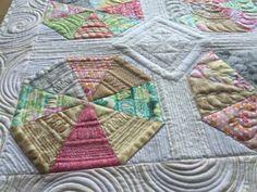 カレイドスコップキルト KaleidoscopeQuilt  中沢フェリーサ Nakazawa Felisa Patchwork  フォ パッチパターン  ミシンキルトFour patch Quilt block