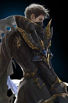 ArtStation - Assassin, TaeKwon Kim(A-rang) Fantasy Art Men, Fantasy Armor, Anime Art Fantasy, Character Modeling, Character Portraits, Fantasy Character Design, Character Art, Fantasy Inspiration, Character Inspiration