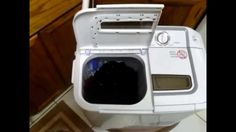 XPB36 Panda Portable Compact Washing Machine with Spinner Dryer Combo Tw...