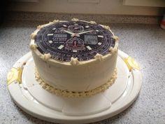 Birthdaycake - a new clock :)