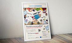 www.weblify.pl/europeanpioneers - plakaty promocyjne dla programu EuropeanPioneers // posters promoting EuropeanPioneers accelerator