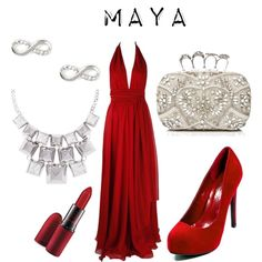 """""""Maya"""" by thegreaterfool on Polyvore"""