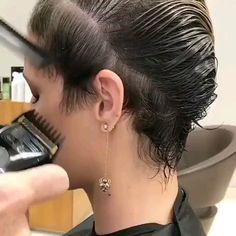 Short Haircut & Short Hairstyles & Pixie Short Haircut & Short Hairstyles & Pixie & The post Short Haircut Short Pixie Haircuts, Pixie Hairstyles, Haircut Short, Easy Hairstyles, One Side Shaved Hairstyles, Undercut Girl, Short Hair With Undercut, Short Hair Over 50, Female Undercut