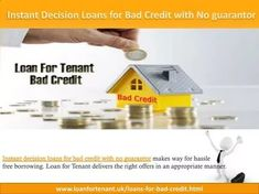 instant cash loans bad credit no guarantor