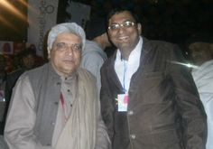 Bestselling Author Dr. Ujjwal Patni with noted lyricist Javed Akhtar