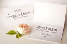 Groom Card Printable